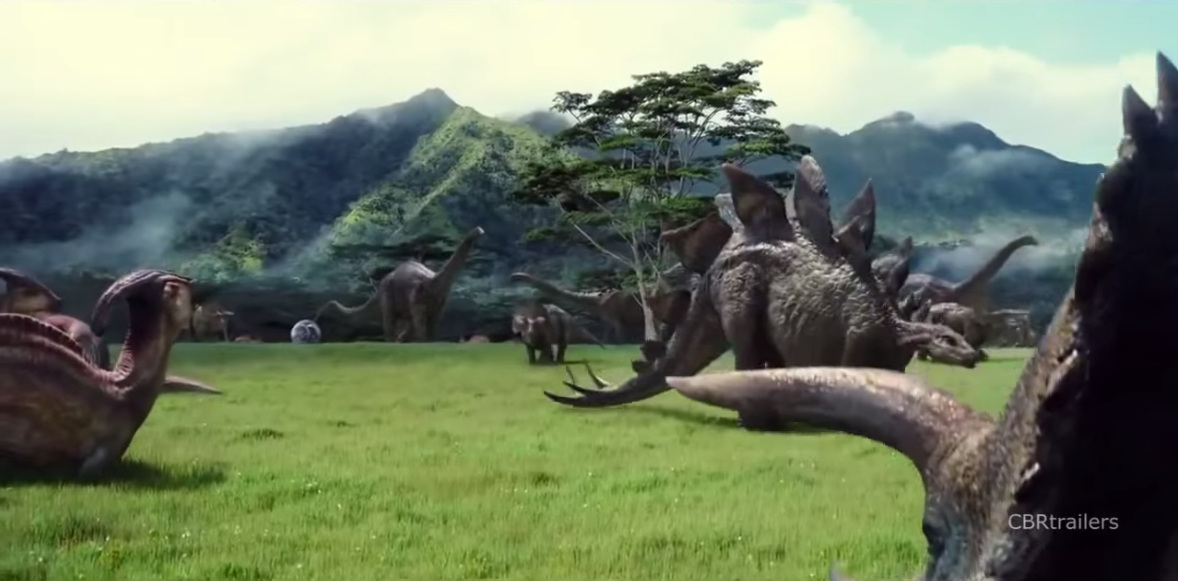 Jurassic World and the case of the droopy-tailed