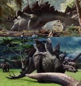 No more Droopy Stegosaurus Tail. More Accurate